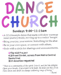 Dance Church Flier